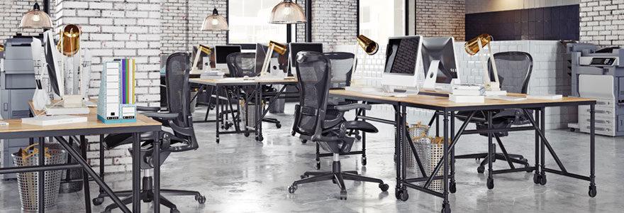 Meuble bureau ergonomique