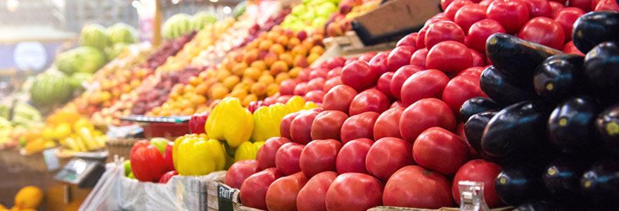 Meuble spécial fruits et légumes